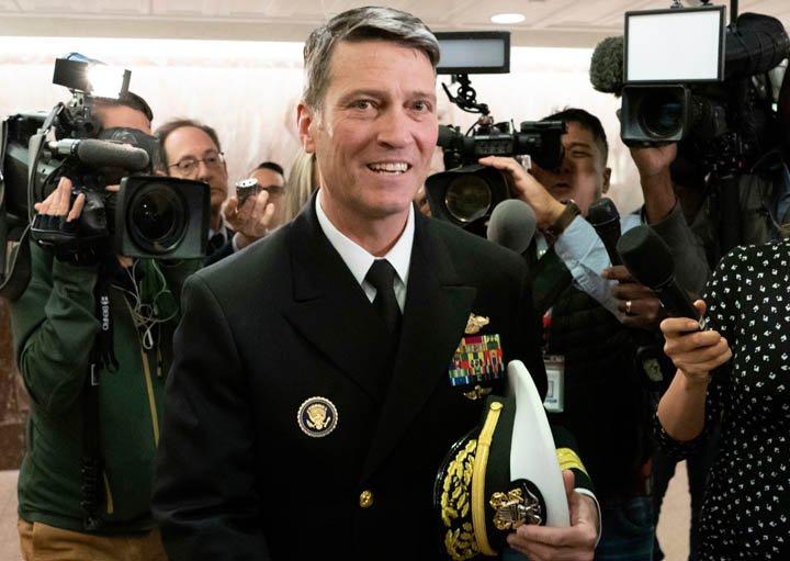 @BroadcastImagem: Ronny Jackson desiste de nomeação a Secretário de Assuntos de Veteranos dos EUA. J. Scott Applewhite/AP