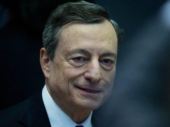 @BroadcastImagem: Desaceleração na zona do euro está relacionada a fatores temporários, diz Draghi. Michael Probst/AP