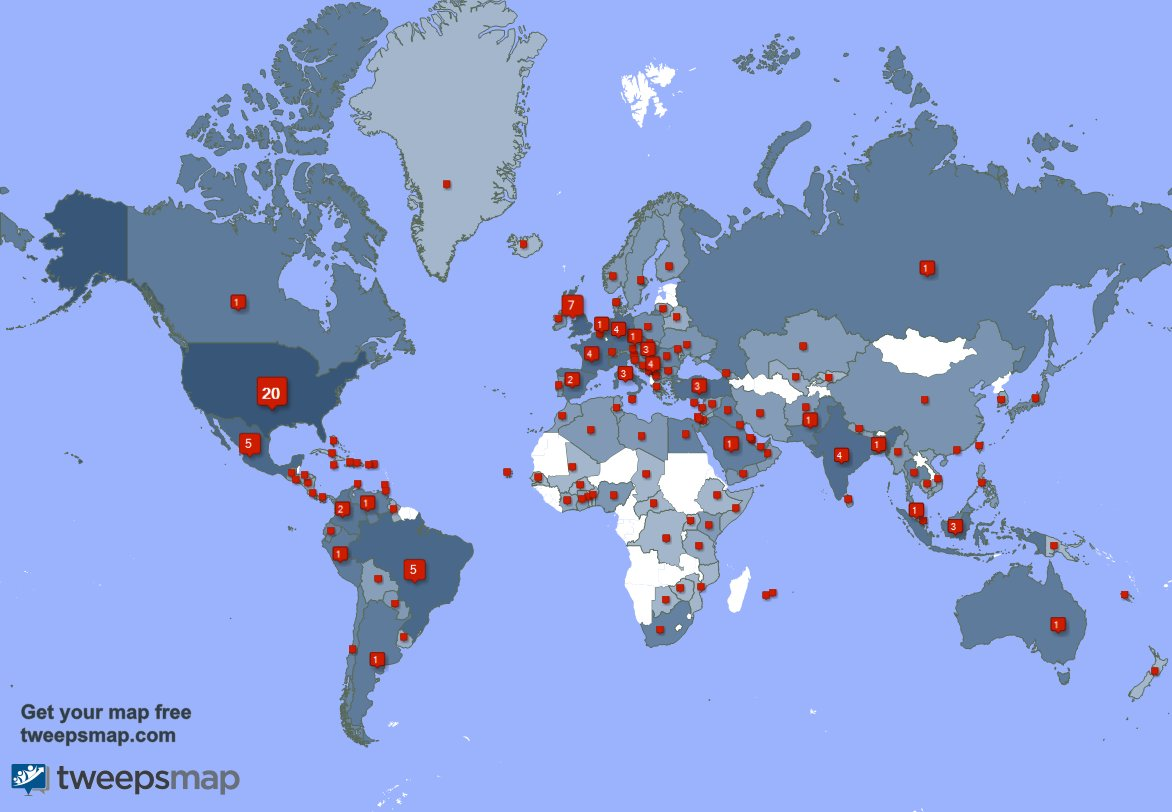 I have 205 new followers from Indonesia, UK., Mexico, and more last week. See uKYX6KH5QS