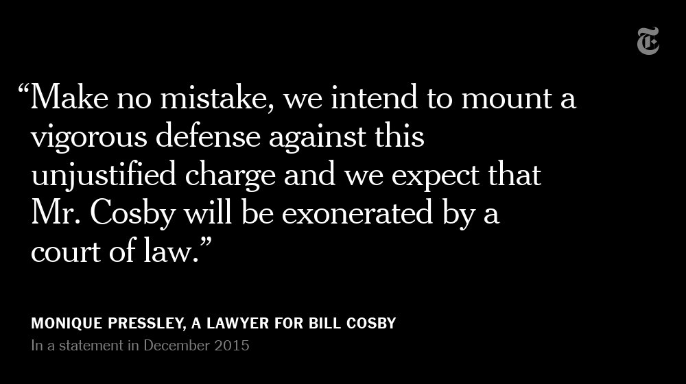 In December 2015, Bill Cosby was arrested and charged with sexual assault https://t.co/gBRuCuDqtt https://t.co/3JQ2jlG5IV
