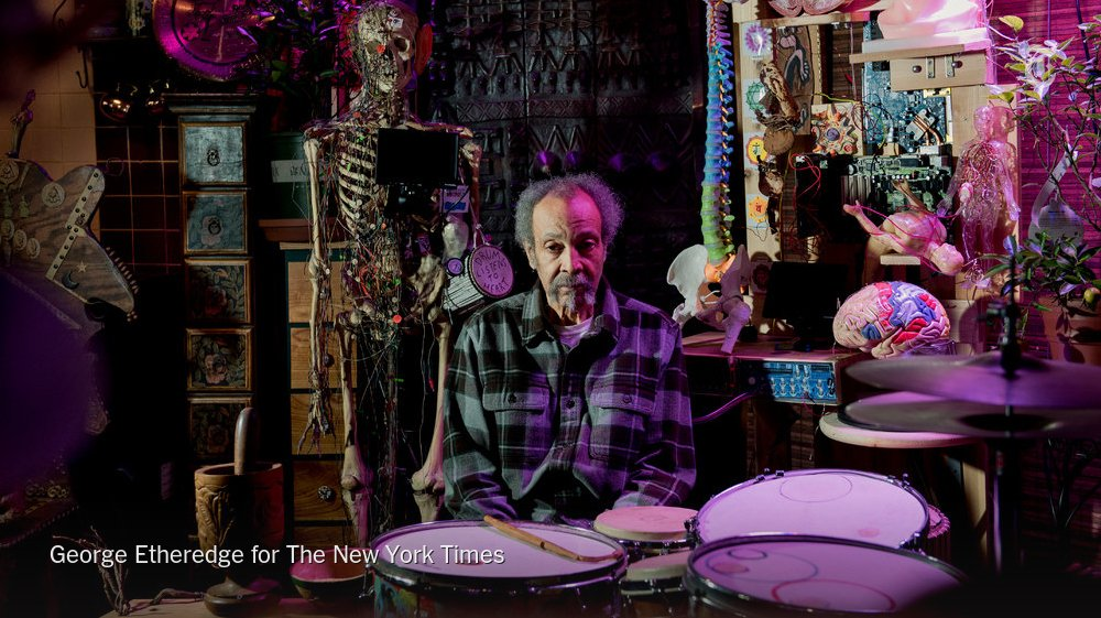 For Milford Graves, jazz innovation is only part of the equation https://t.co/9QdcnxGNY8 https://t.co/PPtvDiema1