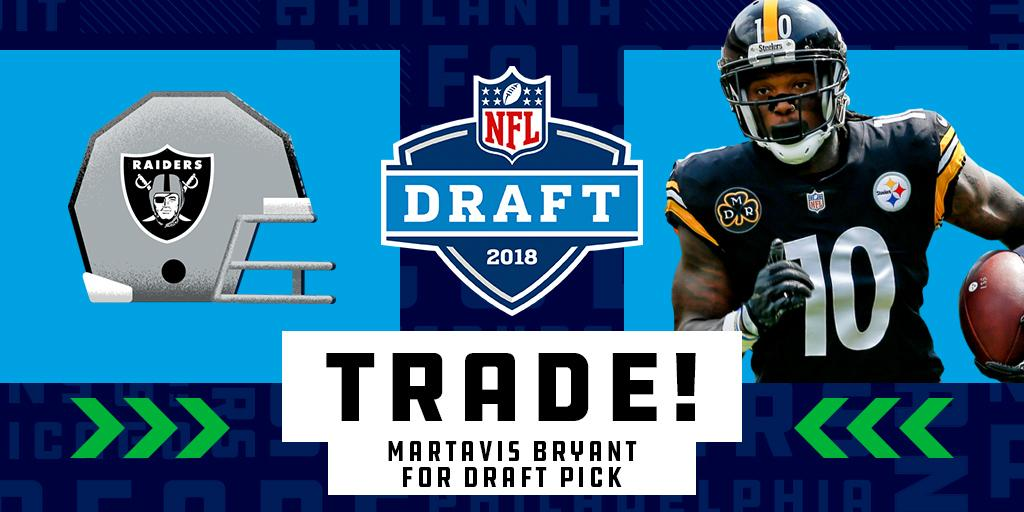 �� TRADE ALERT! ��  The @steelers have traded Martavis Bryant to the @RAIDERS: https://t.co/FjfpSmRpqF https://t.co/SbP7d4hSs8