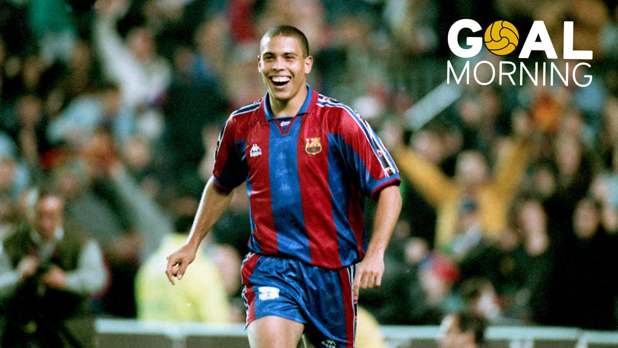 G⚽️AL MORNING!!! �� @Ronaldo  �� �� Valencia �� 1996 https://t.co/KlwVUq99u6