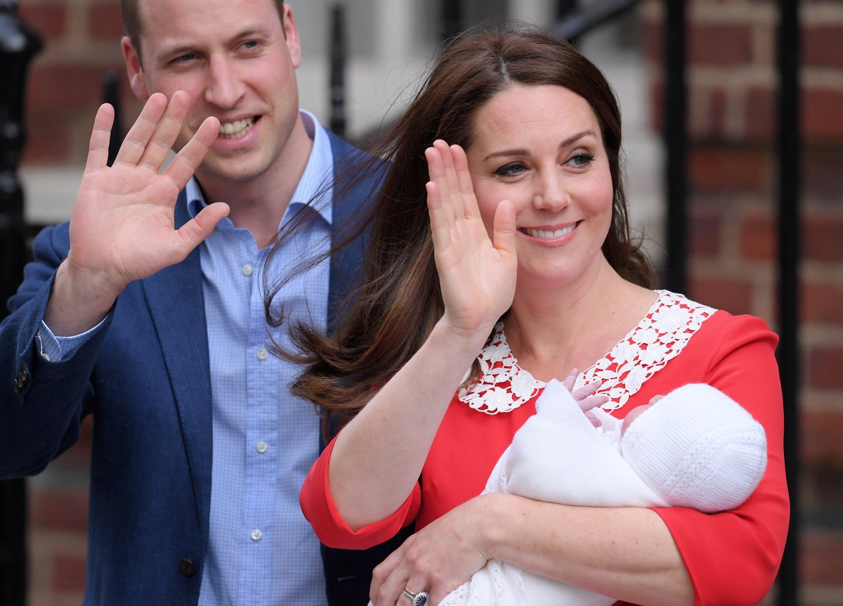 Kate Middleton And Prince William Just Announced The Name Of Their Baby