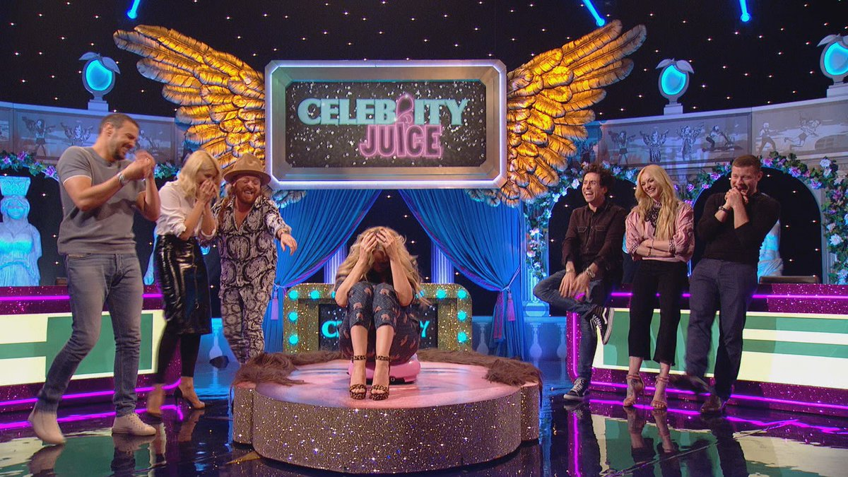 RT @CelebJuice: When the wicked Wibbly Wobbly's had it's way with you, eh? @emmabunton #CelebJuice https://t.co/oDzhztfYAR