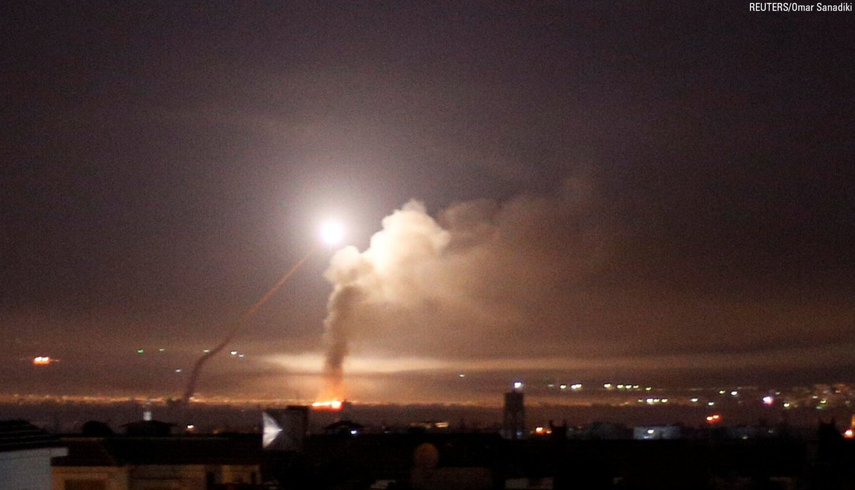 BREAKING NEWS: Israeli airstrikes pummel Iranian infrastructure in Syria, minister says