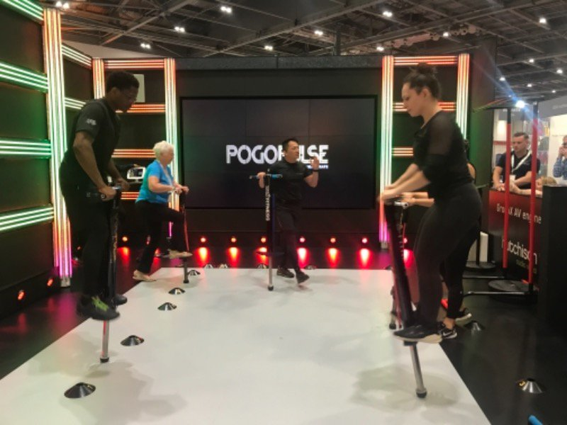Image for Don't miss the WORLD LAUNCH of brand new HIIT offering from @pogopulse in The Studio right now! Pogo Pulse is an infectiously fun workout using a multi-functional Pogo Pulse pogostick, perfectly complimented by our Feature & FX Lighting. #TheStudioExp