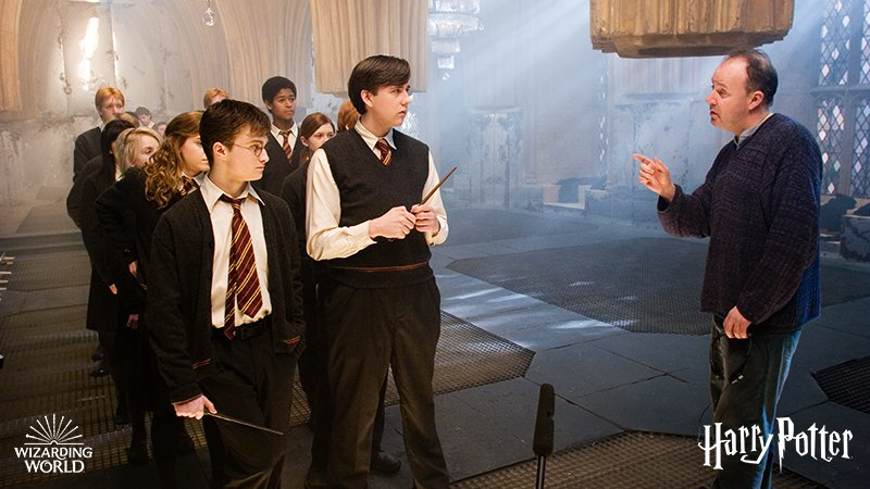 #TBT to preparing Dumbledore's Army for the battles ahead. https://t.co/DRUs09pMEE