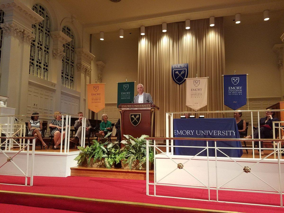 Class Day speaker: @AtlantaBeltLine Founder @ryangravel #Emory2018 https://t.co/J8LiMg5dm5
