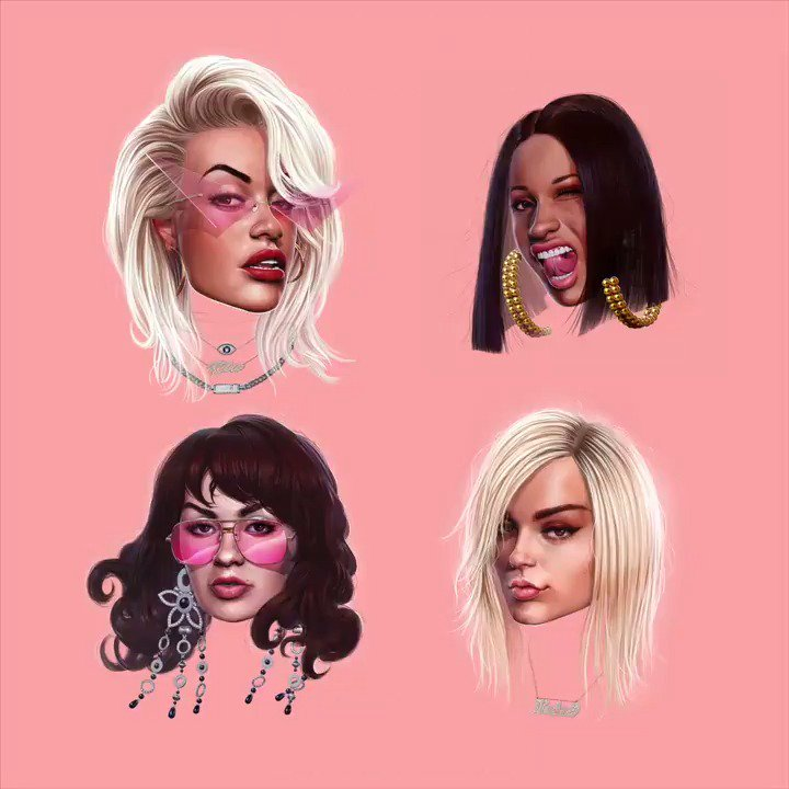 GIRLS IS OUT EVERYWHERE!! ❤️https://t.co/uyPkwf7fAi ❤️???????? #GIRLSGIRLSGIRLS @iamcardib @BebeRexha @charli_xcx https://t.co/qBAaYszwIM