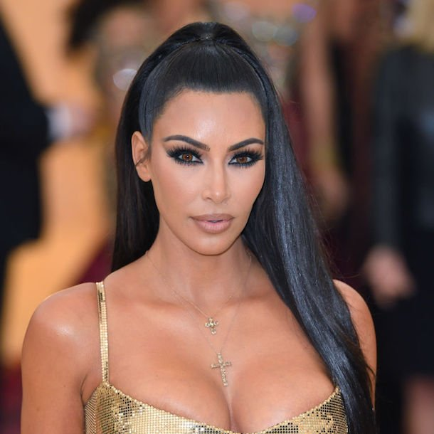 Did you notice that Kim Kardashian wore GOLD contact lenses to the Met Gala?