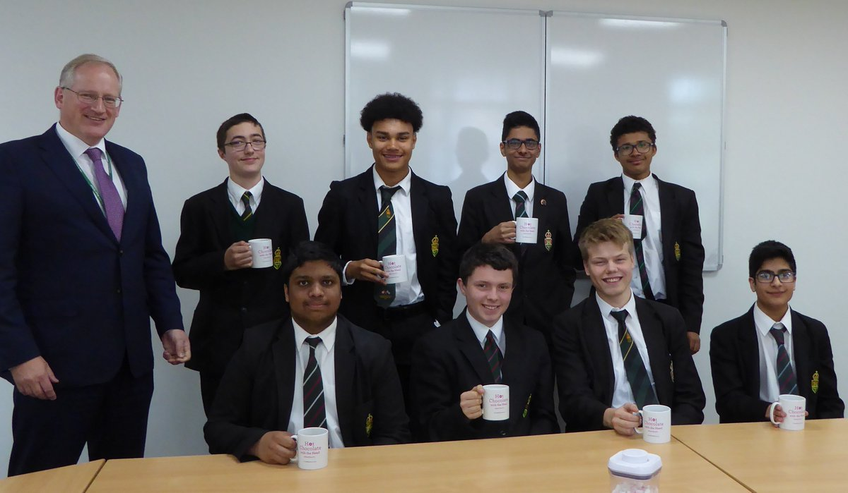 test Twitter Media - These students are the backbone of our school:  turning up every day, cheerfully working hard, helping out wherever, and all without craving attention. In time they will grow into the backbone of our country.  Today they are rewarded with a #hotchocfri with the head. Well done! https://t.co/zf8VG9VSOq