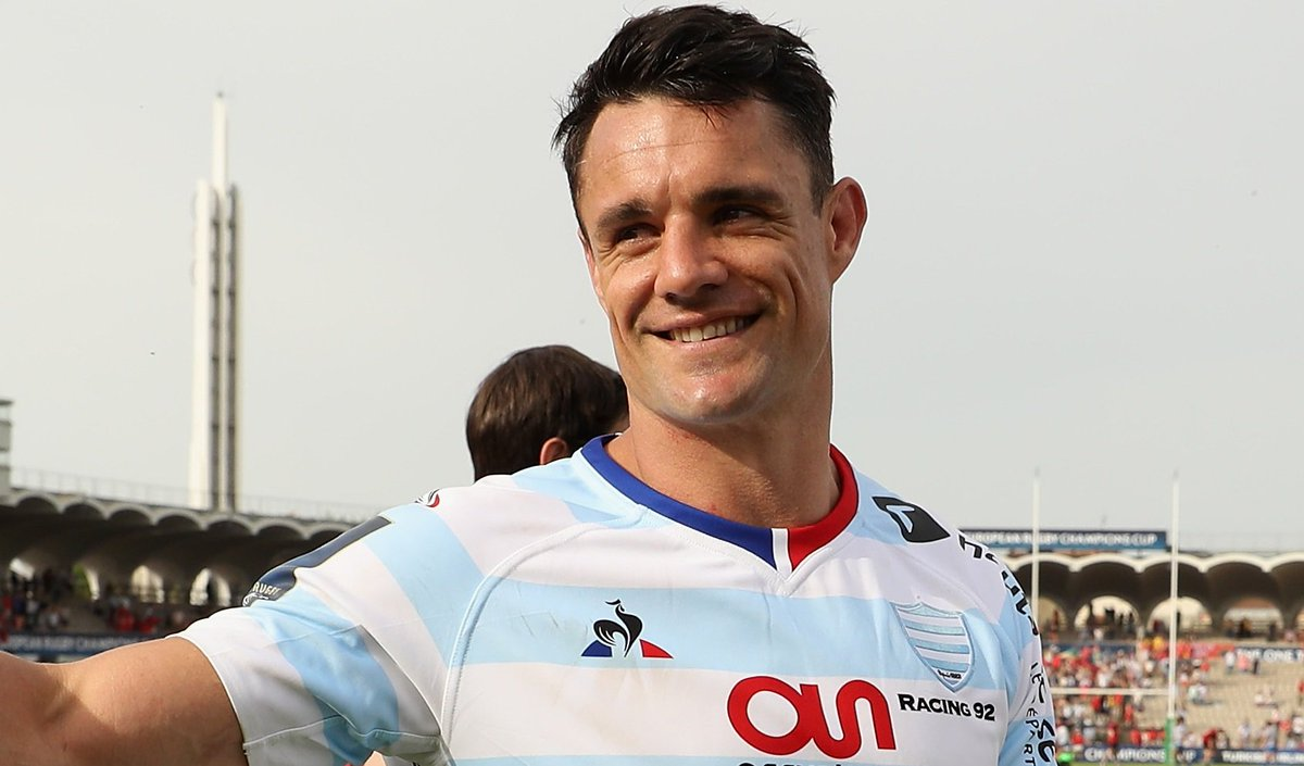test Twitter Media - Dan Carter is among the Racing 92 replacements for the Champions Cup final, while 20-year-old Jordan Larmour starts for Leinster in Bilbao. Team news: https://t.co/MgRiIvNxll 🏉#bbcrugby https://t.co/Za4us4hqBx
