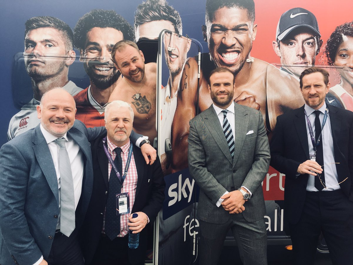 test Twitter Media - The Sky Sports rugby team is ready(ish) for tonight's @ERChallengeCup final. @ScottQuinnell just getting changed in the #FANVAN. @cardiff_blues @gloucesterrugby @WillGreenwood @SBarnesRugby @ZipWorldUK #CARvGLO #ChallengeCupRugby https://t.co/si48G1rF1d