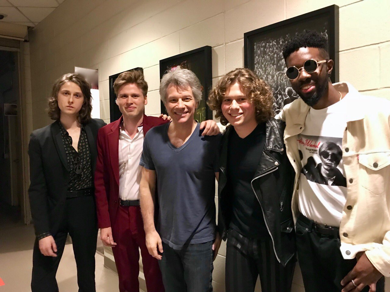 New York! Thanks for two sold out nights @TheGarden�� JBJ with show opener, @TemptBand! #THINFStour https://t.co/NGpCtHtSw5