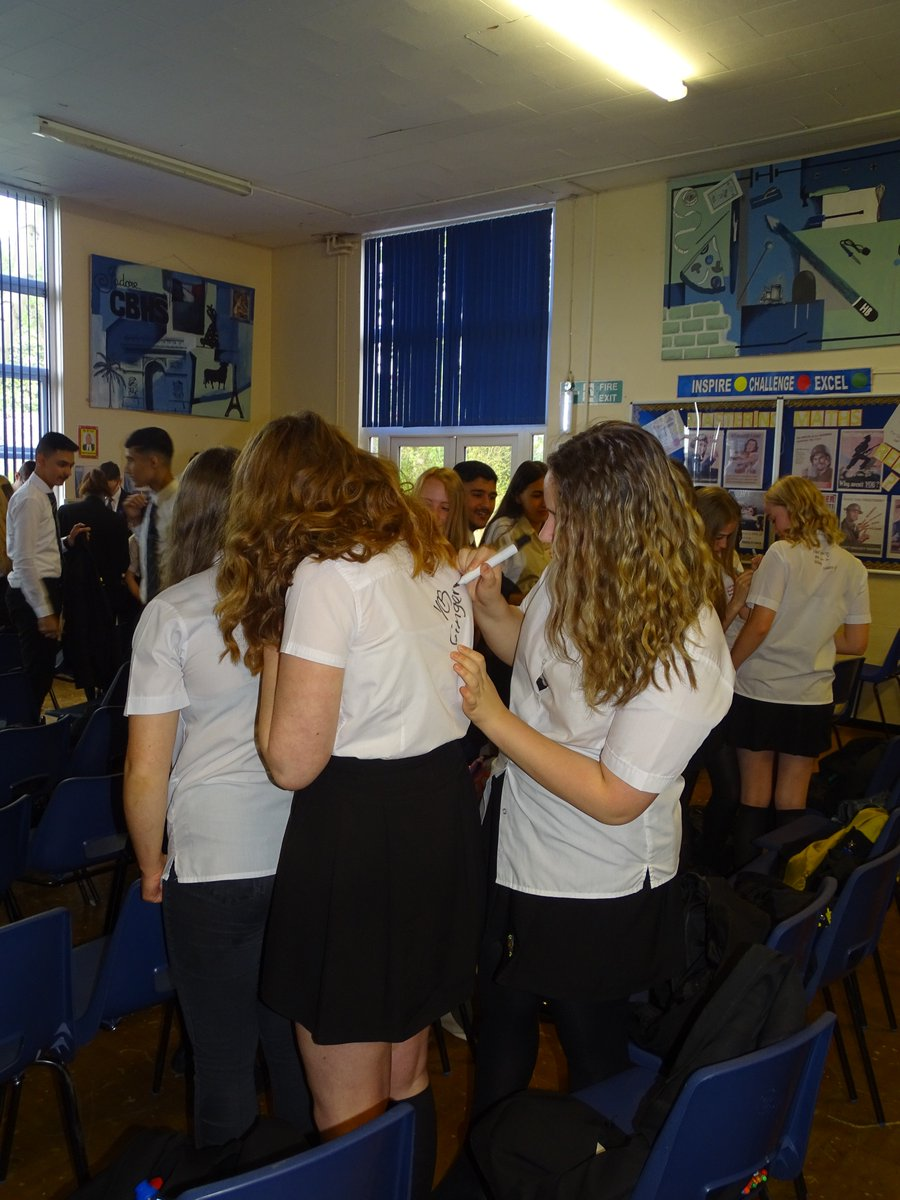 test Twitter Media - Shirt signing at Year 11 Leavers' Assembly https://t.co/bLQxB4hv4W