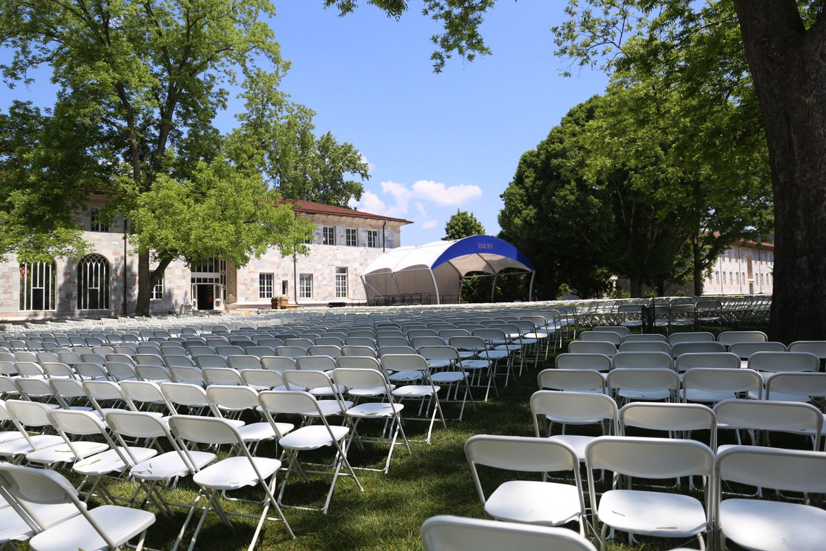 Can't make it to #Emory2018 Commencement Monday? Watch the live webcast here https://t.co/J4ClKK9uBa https://t.co/m5PPl9RzX9