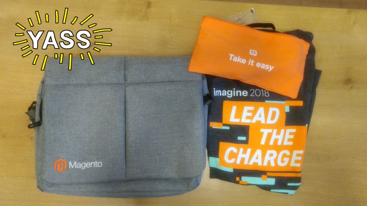 keyurshah070: Thank you so much @PiotrSiejczuk for #MagentoImagine swag :) so I have #imagineswag :) https://t.co/vRC6KCUnm4
