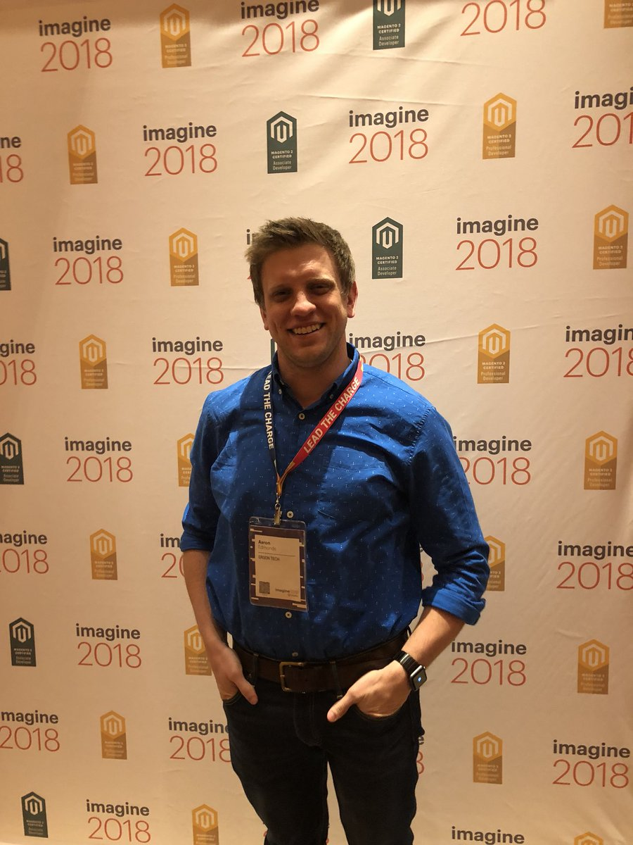 MagentoU: Congrats to Aaron Edmonds on passing your M2 Certified Solution Specialist! @aaronedmonds #MagentoImagine https://t.co/LSAL9HHuyR