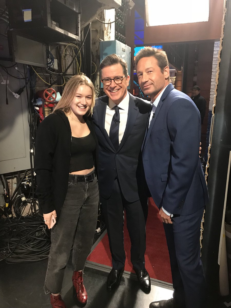 Always great spending time with @StephenAtHome and West. Tune in tonight 11:35 PM EST #TheLateShow https://t.co/kOuLBfI8gq