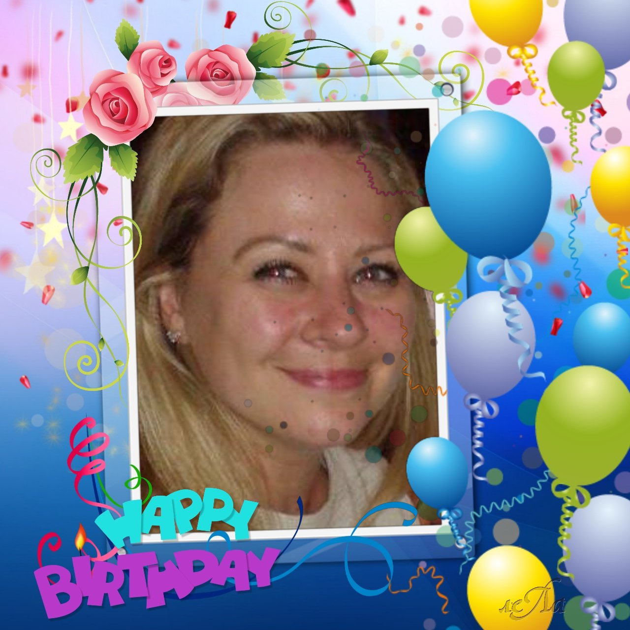 Wishing My friend Adele a very happy birthday today hope she has a great day xx