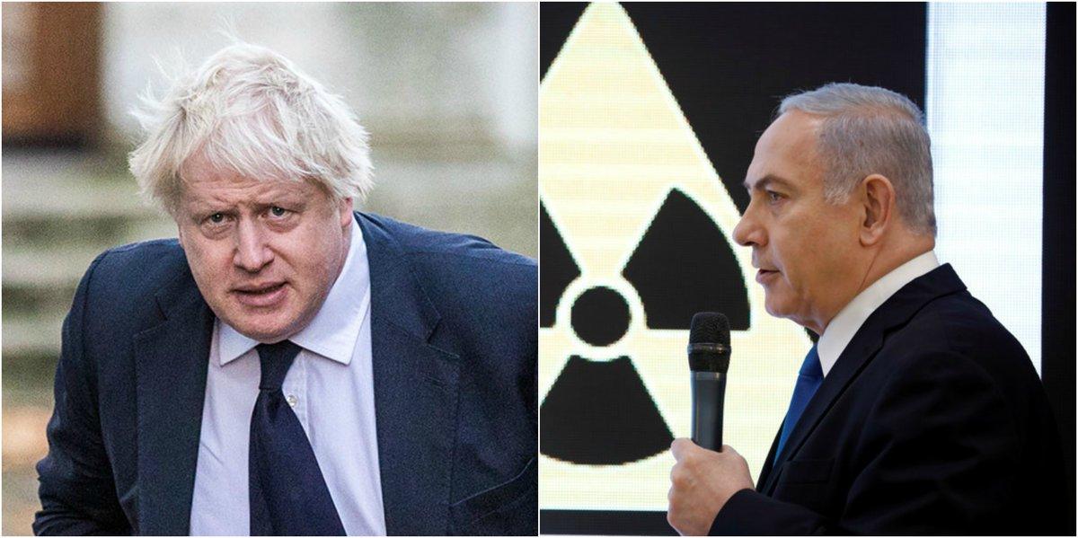 Iran lied! - Netanyahu  UK should stick to nuclear deal - Boris Johnson