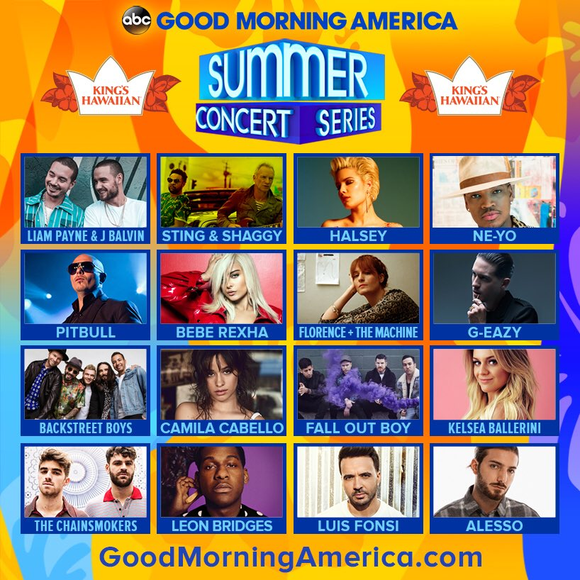 Taking the @GMA Summer Concert Series stage in Central Park on June 15! #PITBULLonGMA https://t.co/1lxr5FLbHs