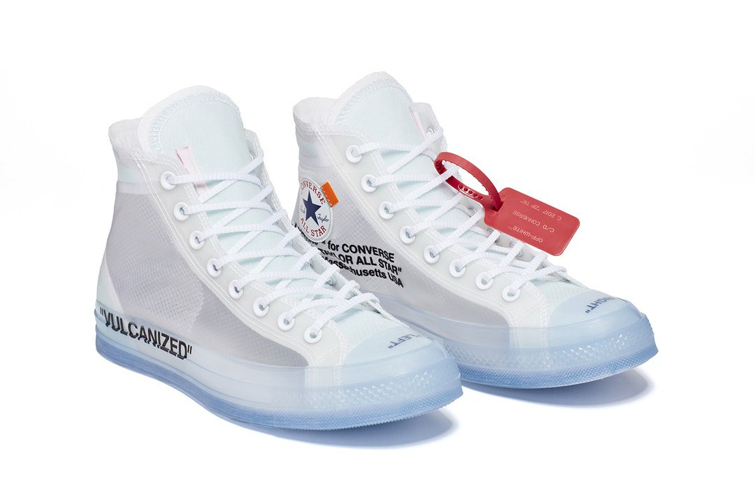 Converse off white