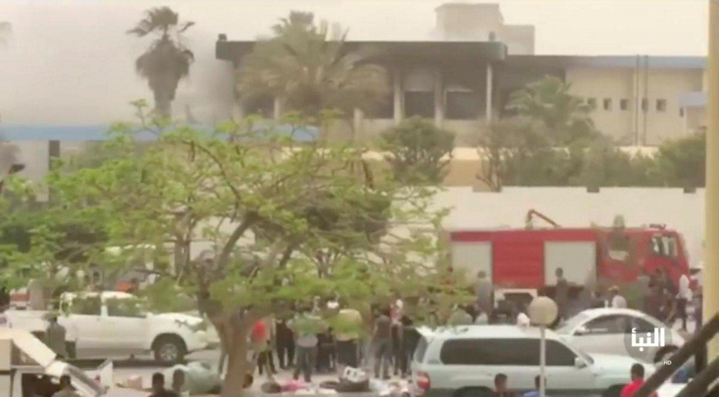 Suicide attackers target headquarters of Libya's electoral commission