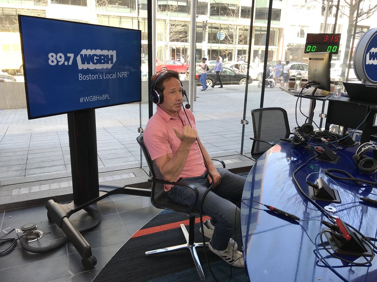 RT @BosPublicRadio: Now at the BPL: @davidduchovny joins us to discuss his latest novel, #MissSubways https://t.co/2nDNuDPNmP
