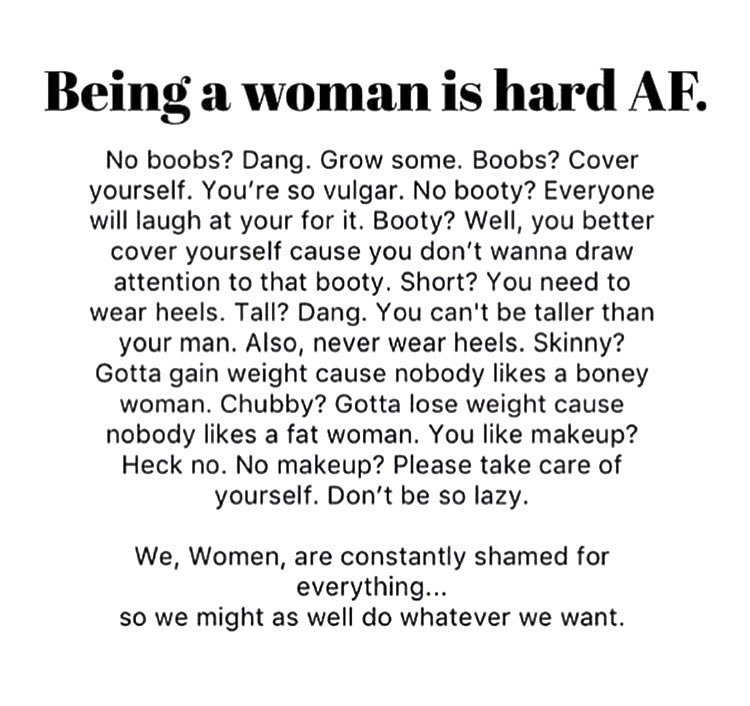 Being a women is hard! #women #are #awesome https://t.co/kXQgDNQvDB