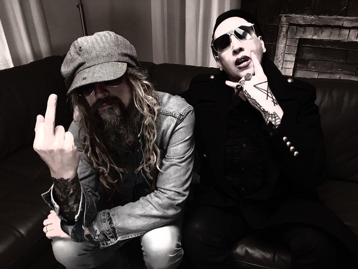 Rob Zombie and I spent the night discussing our upcoming TWINS OF EVIL tour... https://t.co/6k1U5RMJEx