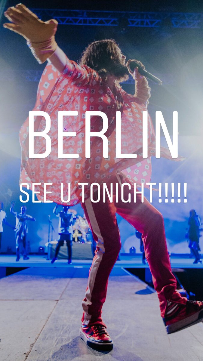Berlin tonight! ???????????????????????? https://t.co/EYpge0QeZ0