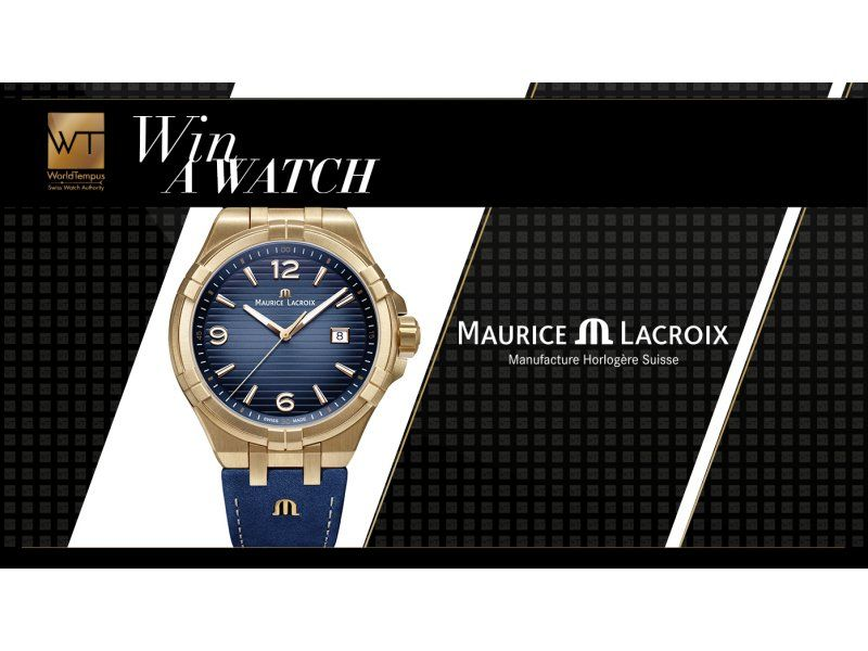 test Twitter Media - Win a Maurice Lacroix Aikon Bronze 44 mm watch - WorldTempus  Ends when May does #timetoein me https://t.co/qTyxEFVDc6 https://t.co/EMJqhS7Rx8