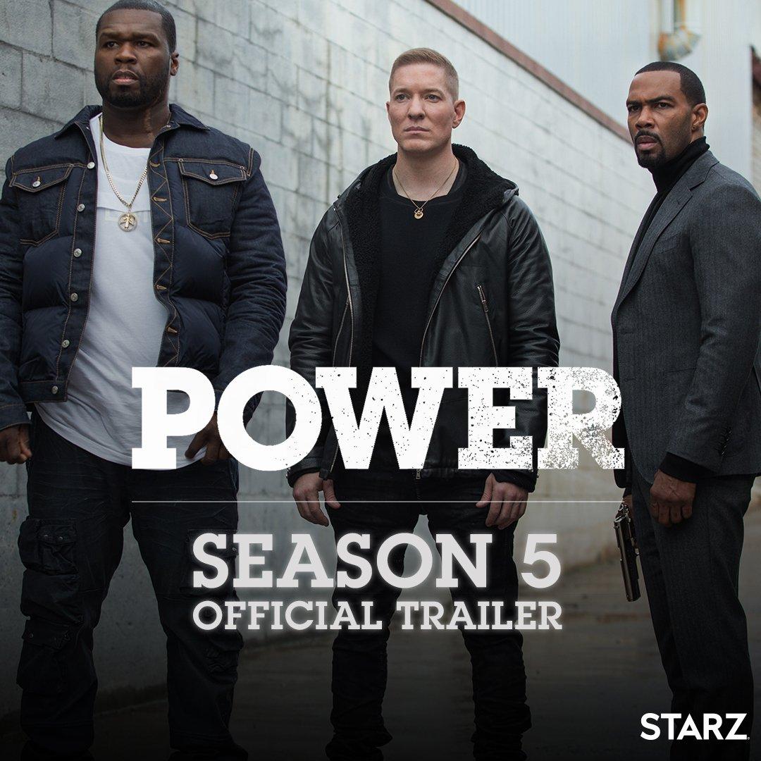 POWER Season 5... July 1st!! @STARZ ????   https://t.co/Pa4Q3cgHXQ