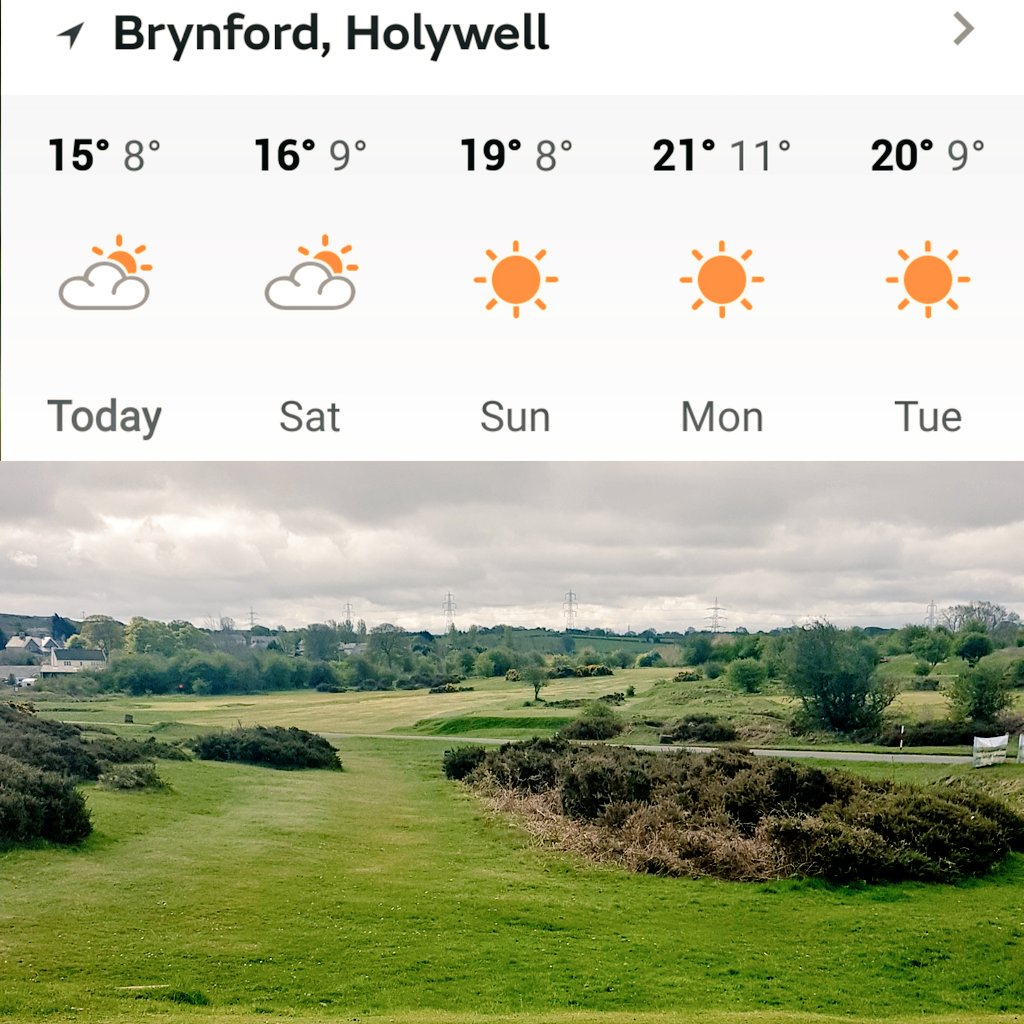test Twitter Media - The warm weather is here and looks like its here to stay! ☀️🏌️‍♂️⛳#NorthWales #WalesGolf #Golf https://t.co/89fnrsukWG