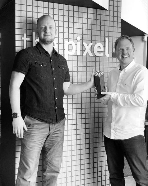 ThePixelUK: The Spirit of Excellence #Award made it safely back to our office @Magento! Thanks again! #MagentoImagine https://t.co/5K5LWfjbHI