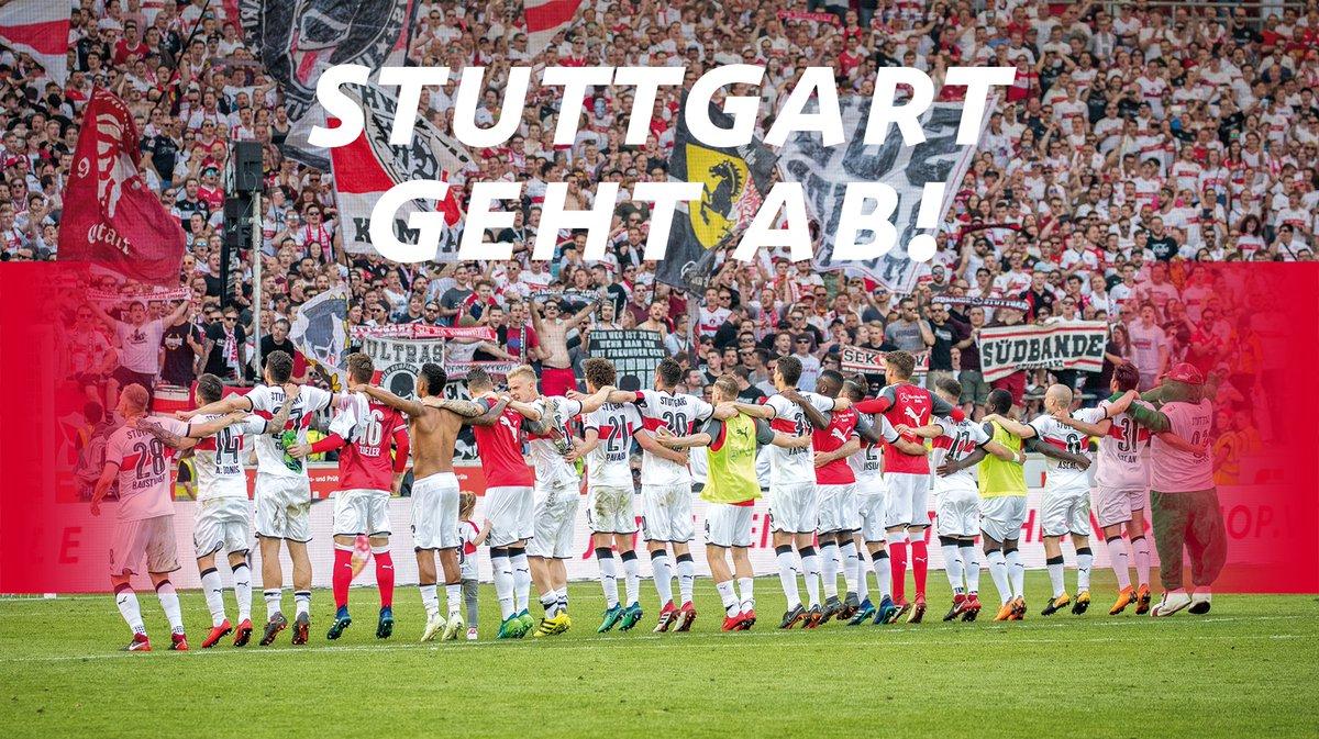RT @VfB: 60.000 feiern Saisonfinale. Unserer 11 ist es ein Fest. Und was macht Stuttgart? #stuttgartgehtab #VfBTSG https://t.co/zvkfcLjPxp