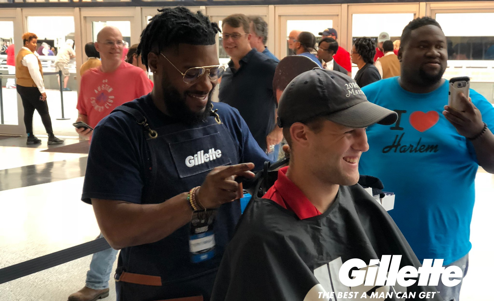 Thanks to everybody who supported @threekola in our @Gillette Beard shaving! #doitBIGGER #CleanShave https://t.co/5tihlN67AZ