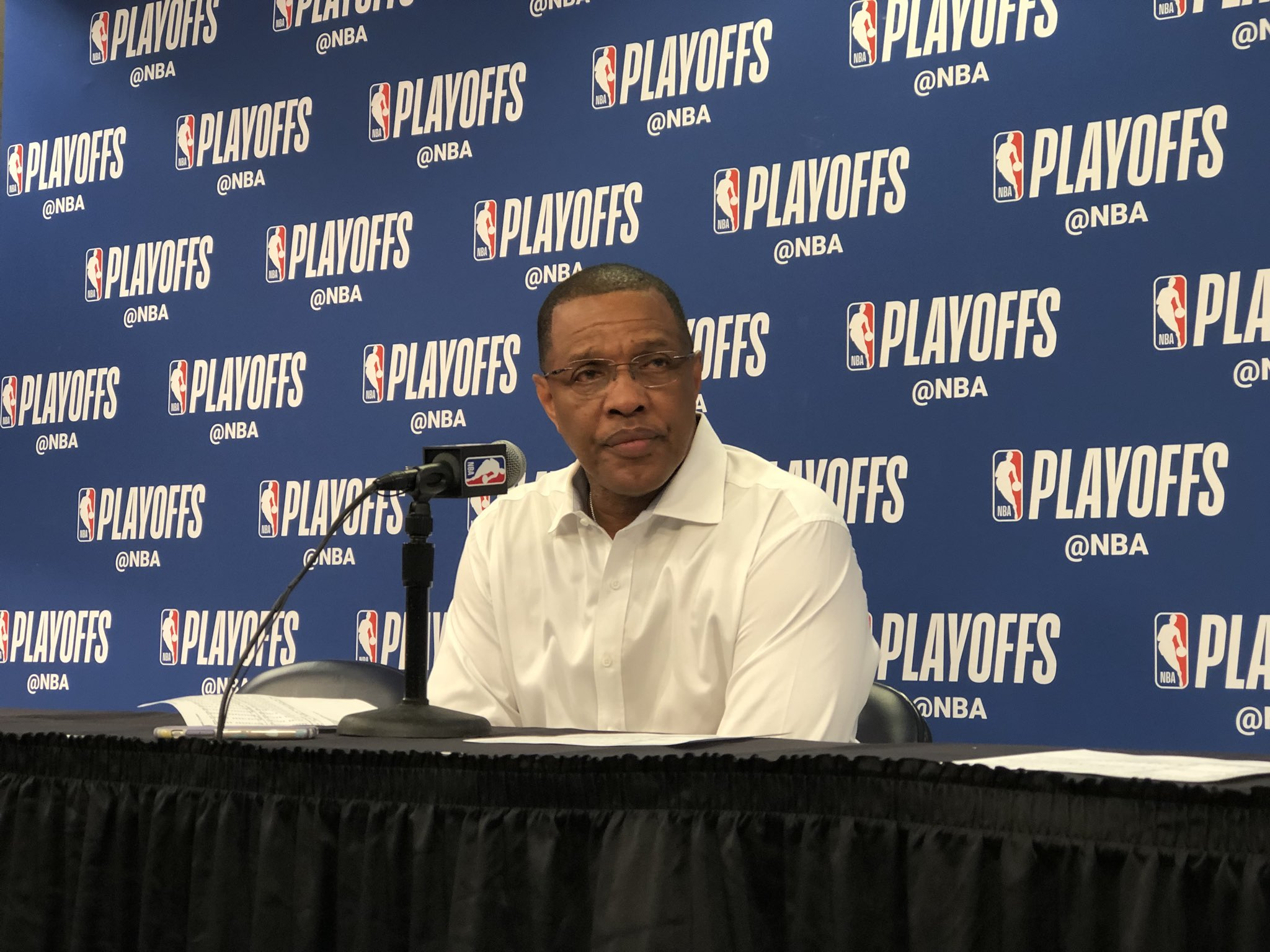 Gentry is speaking with the media after the Game 3 win! Watch live: https://t.co/es6YOqpLj6  (Via @dixiebrewco) https://t.co/iye5uuReBm