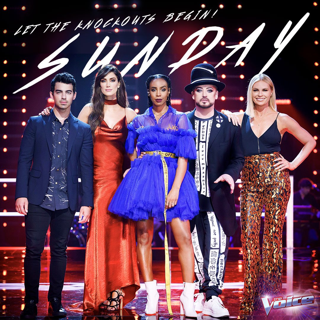 We've got our game face on for the Knockouts tomorrow on #TheVoiceAU. Do you? #TeamKelly https://t.co/TGZE1HYtMV