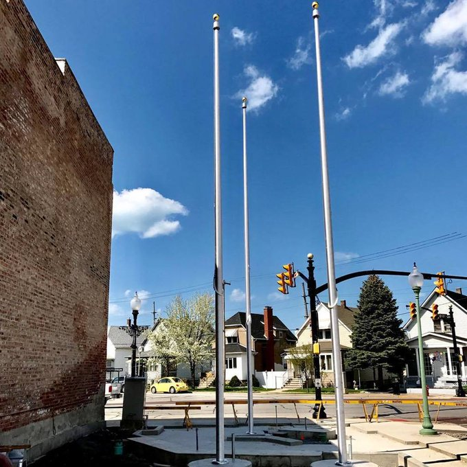 #Veterans Memorial Park @Whiting,IN #Main St #Lakefront #Winch #Concord/American #Flagpoles. https://t.co/sLiEm49qzE https://t.co/l8ktaXkfIZ