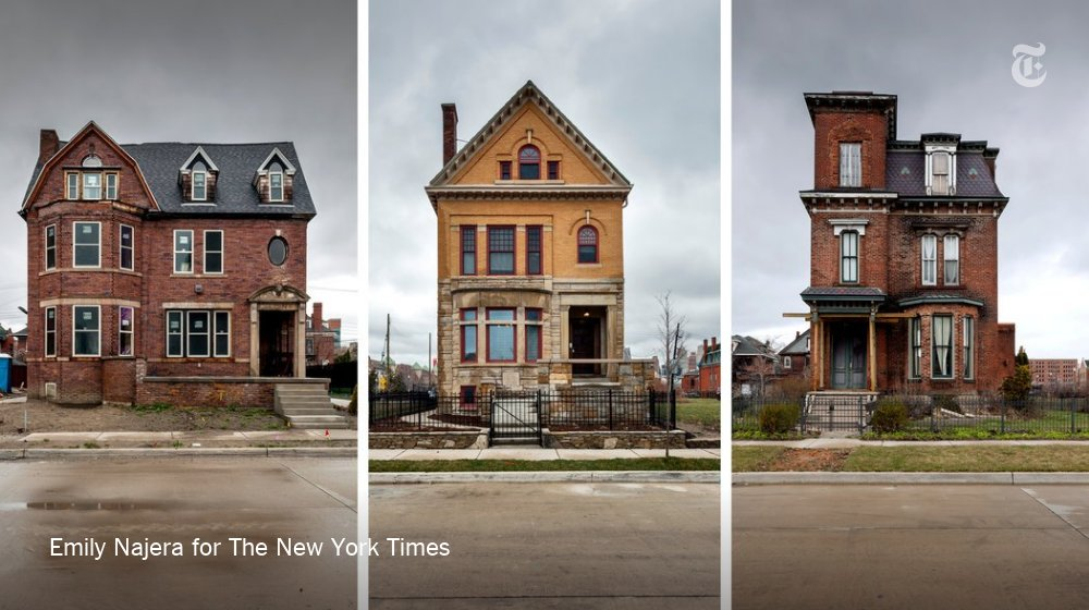 Detroit was crumbling. Here's how it's reviving. https://t.co/M28zfyJfW5 https://t.co/I9xb54woCu