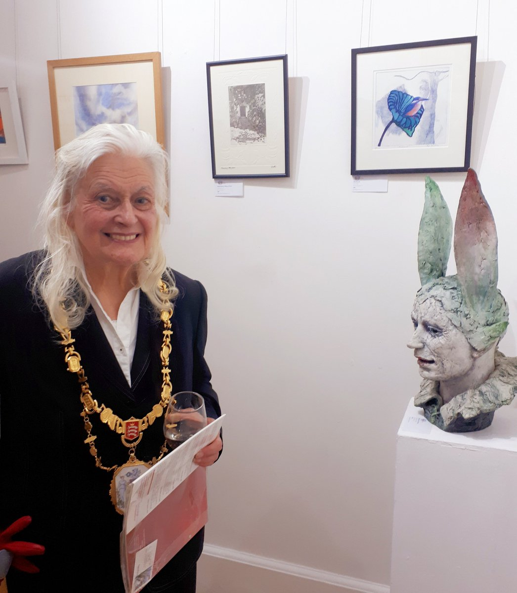 test Twitter Media - Thank you to everyone who came to our private view at Harrow Art Centre. It was opened by Mayor of Harrow Cllr Margaret Davine. We look forward to seeing you in the individual artists' studios during June. https://t.co/DQEoQZdROF