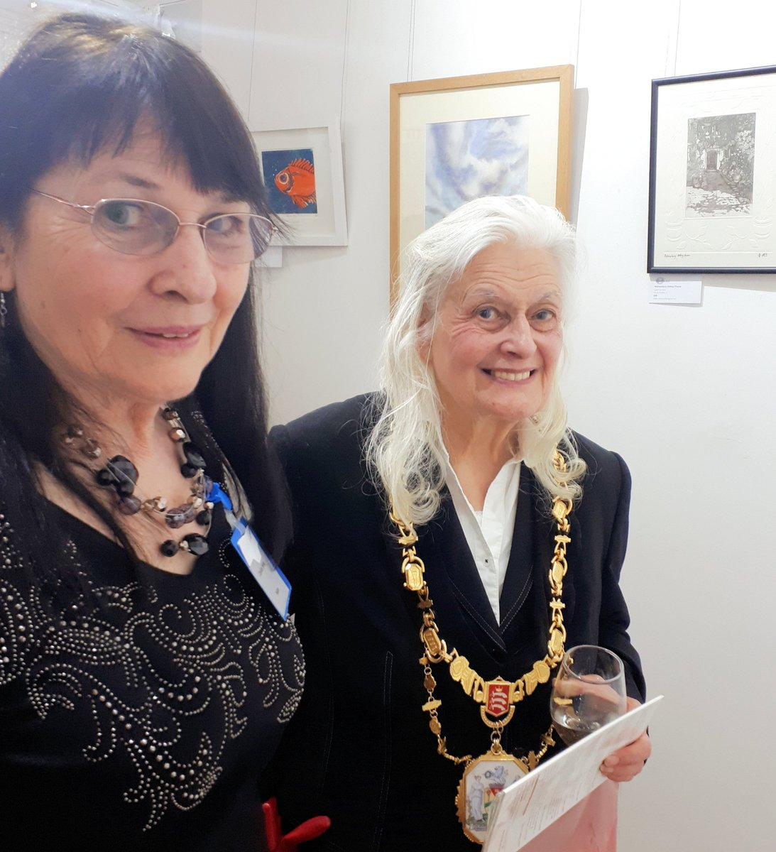 test Twitter Media - We had a marvelous time at our private view at Harrow Art Centre. Opened by Mayor of Harrow Cllr Margaret Davine. Thank you to everyone involved who organised and participated in the exhibition. We welcome you in our individual artists' open studios during June. https://t.co/XvSg5ro23T