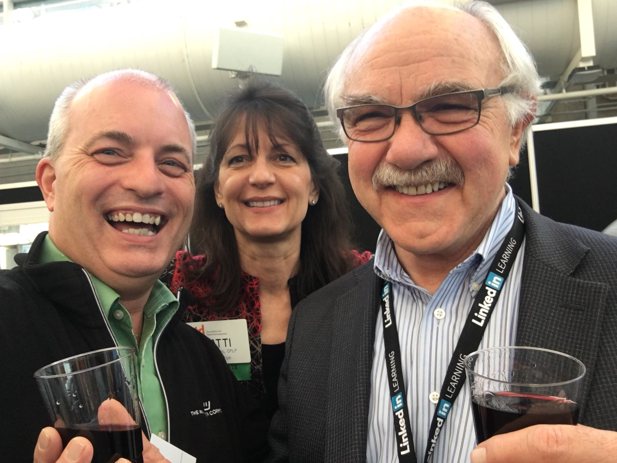 #ATD2018 #ATDReunionSelfie sharing a light-hearted moment with industry gurus Jack & Patti Phillips @ROI_Institute https://t.co/zZLhVtvl5b