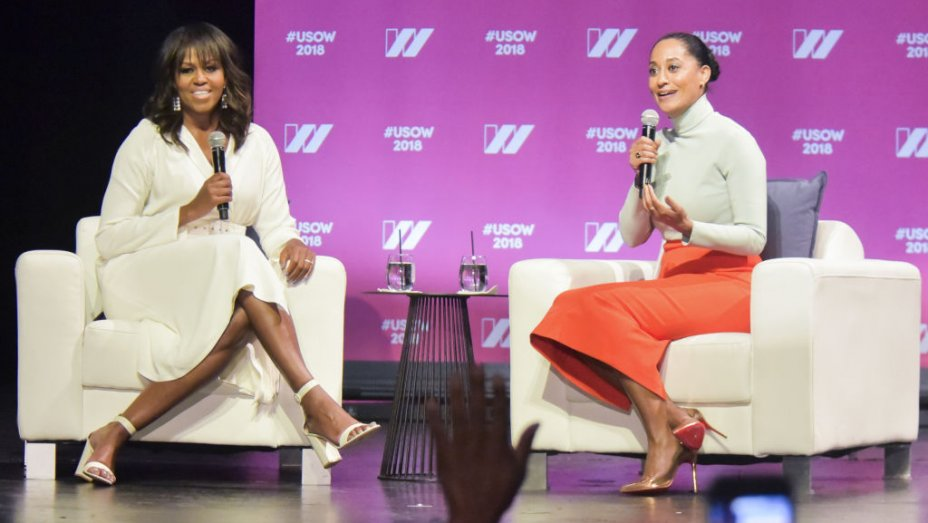 "Michelle Obama on running for office: ""I don't think I'm any different than Hillary"""