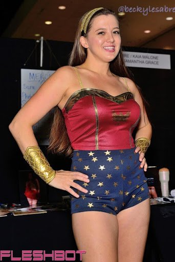 A photo taken at last years Who will be there this year? Come see your favorite model in person