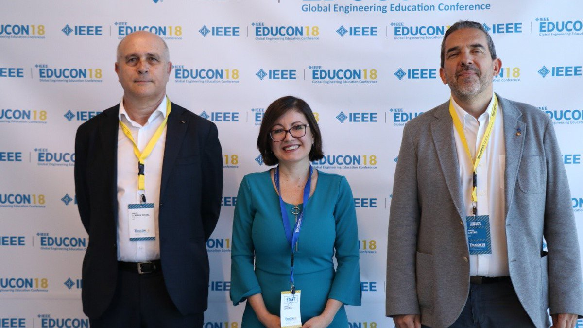 test Twitter Media - Martin Llamas, Carina Gonzalez and Manuel Castro. General co-chairs of #EDUCON 2018.  https://t.co/akQDPYNzXT https://t.co/058C19Yho7