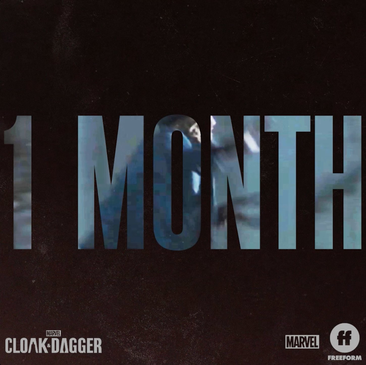1 month until it all goes down. #CloakAndDagger https://t.co/Kya4tBtHWt